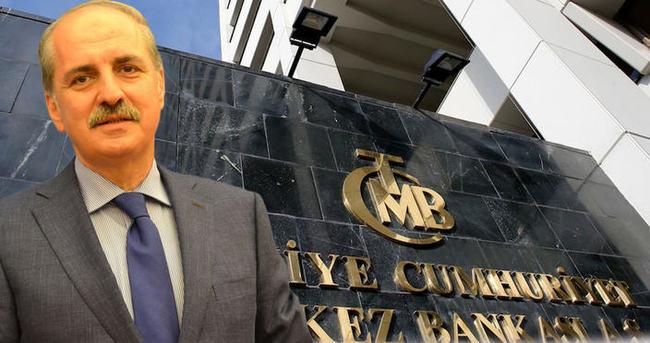 Kurtulmuş'tan Merkez Bankası'na indirim tepkisi