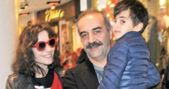 Yılmaz Erdoğan ile Belçim Bilgin'den mutluluk pozu