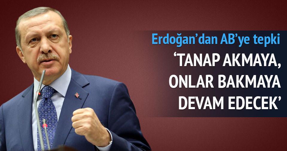 Erdoğan'dan AB'ye enerji faslı eleştirisi