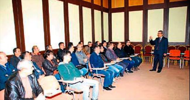 Personel iletişim seminerinde