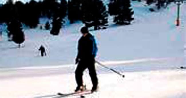 Salda'da kayak sezonu açıldı