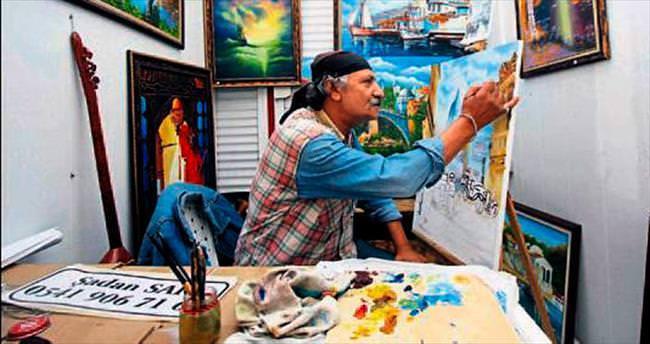 Ressamlar sokağı artık daha modern