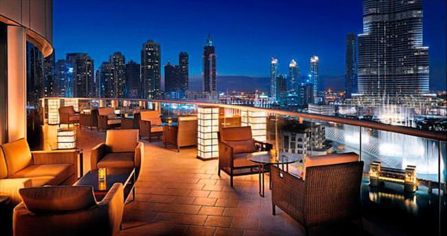 Gece ışıklarıyla mücevhere dönüşen Dubai