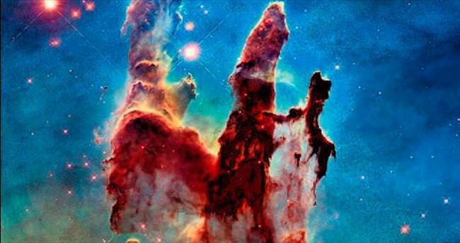 Hubble'ın 25. yıl kutlama fotoğrafı