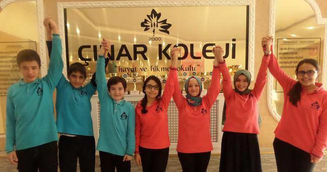 Van Çınar Koleji'nden 7 Türkiye 1'incisini çıkardı