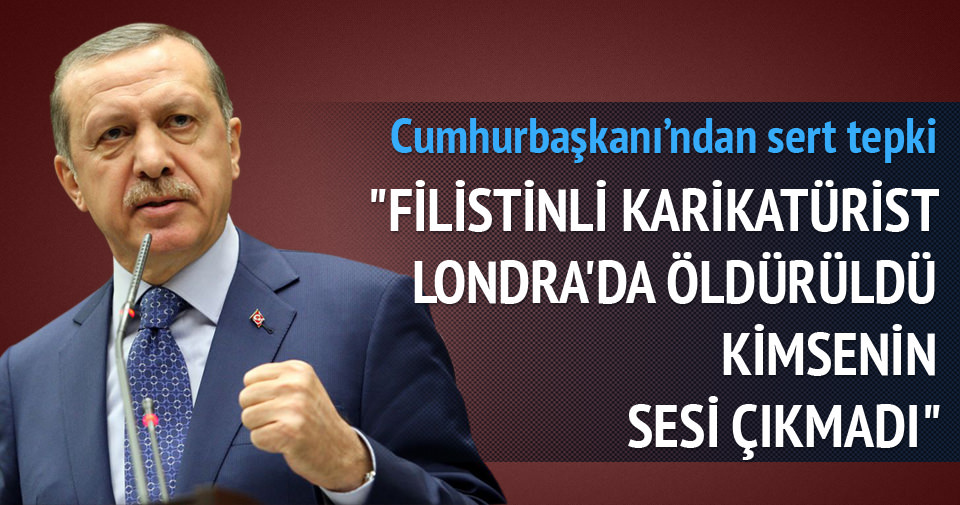 Erdoğan'dan flaş 'karikatür' açıklaması