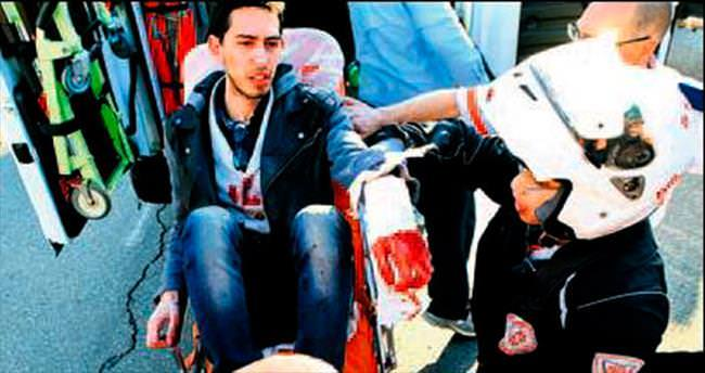 İsrail'de otobüse bıçaklı saldırı