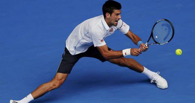 Novak Djokovic rakibini bekliyor