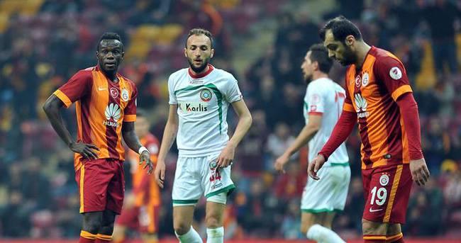 Galatasaray'a kupada şok