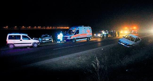 İkinci kazada yaralandı