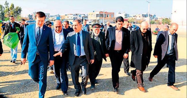 Başkan Çelikcan'dan Suriyelilere ziyaret