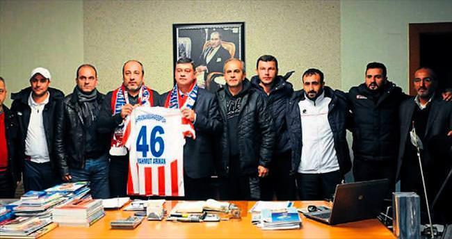 Kahramanmaraş'a Arıkan'dan destek
