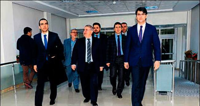 Başkan Mahçiçek'ten sağlık teşkilatı ziyareti
