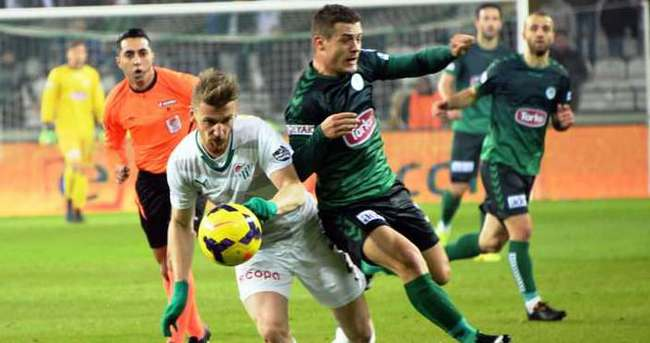 Bursaspor 90+2'de güldü
