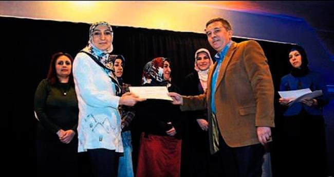 Kadınlara aile eğitim sertifikası