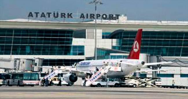 Atatürk Havalimanı AB'de 4'üncü
