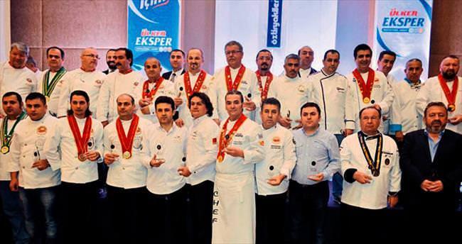 Aşçılar ödül aldı