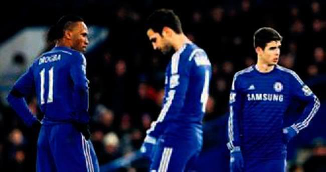 Chelsea'ye dört gollü kupa şoku