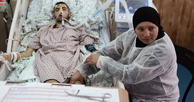 İsrail oğlumu hastanelik etti