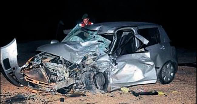 Panelvan-otomobil kazasında 5 yaralı