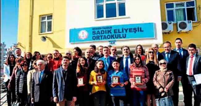 Tarsus'ta TEOG şampiyonlarına ödül verildi