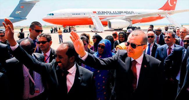 Somali'ye 10 bin konut müjdesi