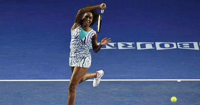 Venus Williams'tan 5 yıl sonra bir ilk