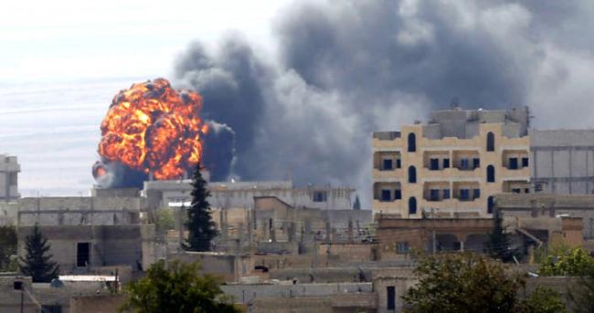 DEAŞ Kobani'den temizleniyor