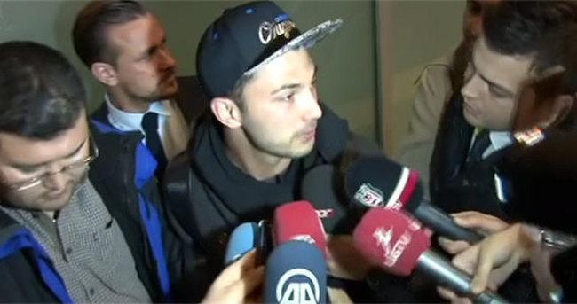 Beşiktaş'ın yeni transferi Tolgay İstanbul'da