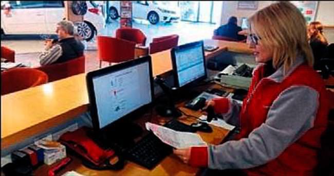 Toyota Borovalı'da anlık bilgi hizmeti