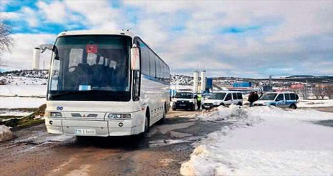Otobüs çalan cezaevi firarisi yakalandı