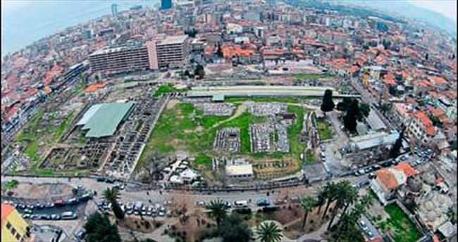 İzmir Agorası'nda kazı alanı büyüdü