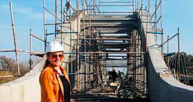 Aksu Köprüsü restore ediliyor