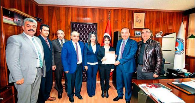 Ceyhan Belediyesi belgesini yeniledi