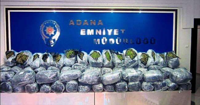 Adana polisinden esrar operasyonu