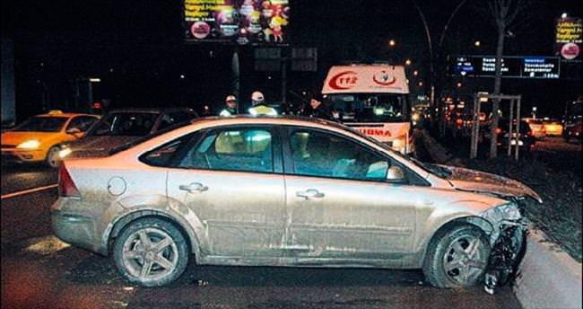 Ankara'da kaza gecesi