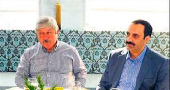 Antalya imamıyla CHP'li başkanın sürpriz buluşması