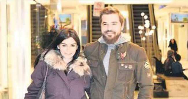 Engin Altan ile Neslişah'ın el ele alışveriş turu