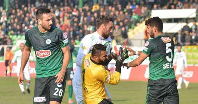 Konyaspor 3 puanın sahibi oldu