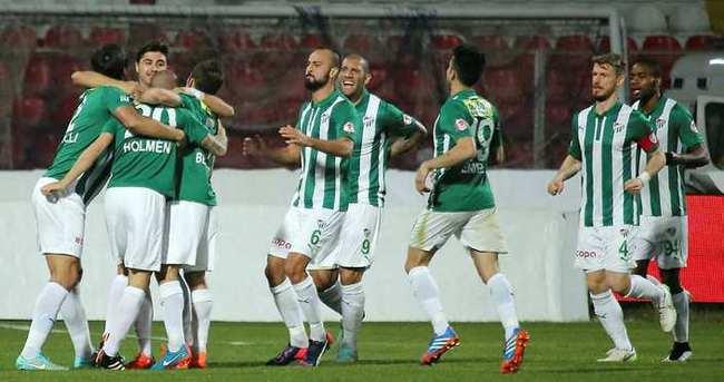 Bursaspor'dan gol şov