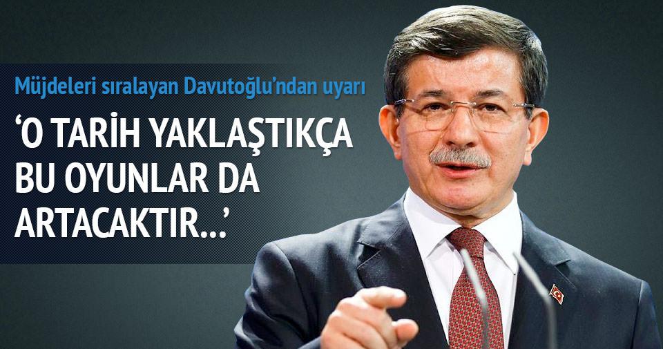 Başbakan Davutoğlu konuştu