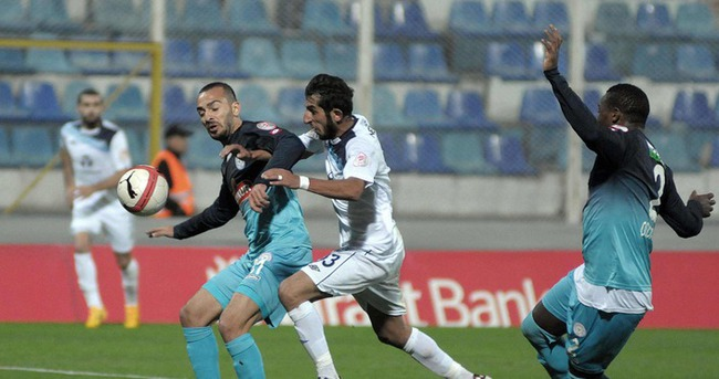 Adana'da karşılıklı goller