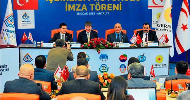 KKTC ile Akdeniz Belediyeleri el ele