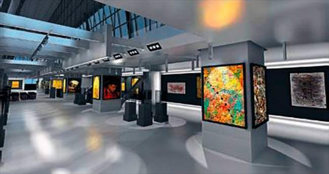 Türkiye'nin en büyük sanat galerisi açılıyor
