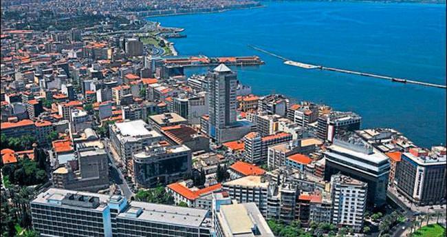 Ege'de nüfusu en çok artan il İzmir