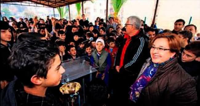Gençlere başkan desteği