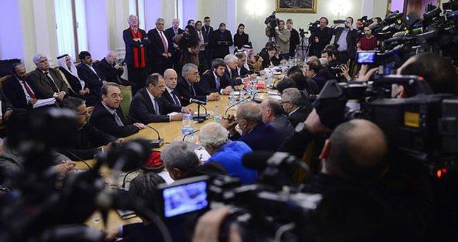 Moskova'da Suriye görüşmeleri