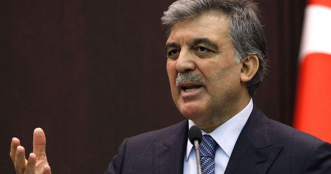 Abdullah Gül o iddialara cevap verdi