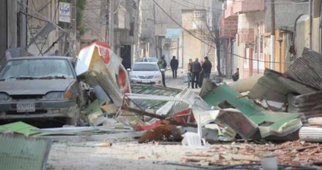 Kobani'de silah sesi gitti 'izi' kaldı