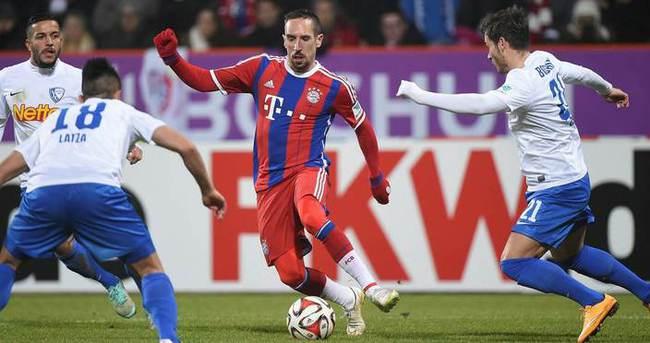 Ribery ve Rafinha sakatlandı